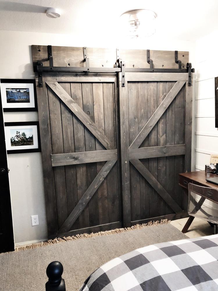 Boys Modern Farmhouse Bedroom Reveal