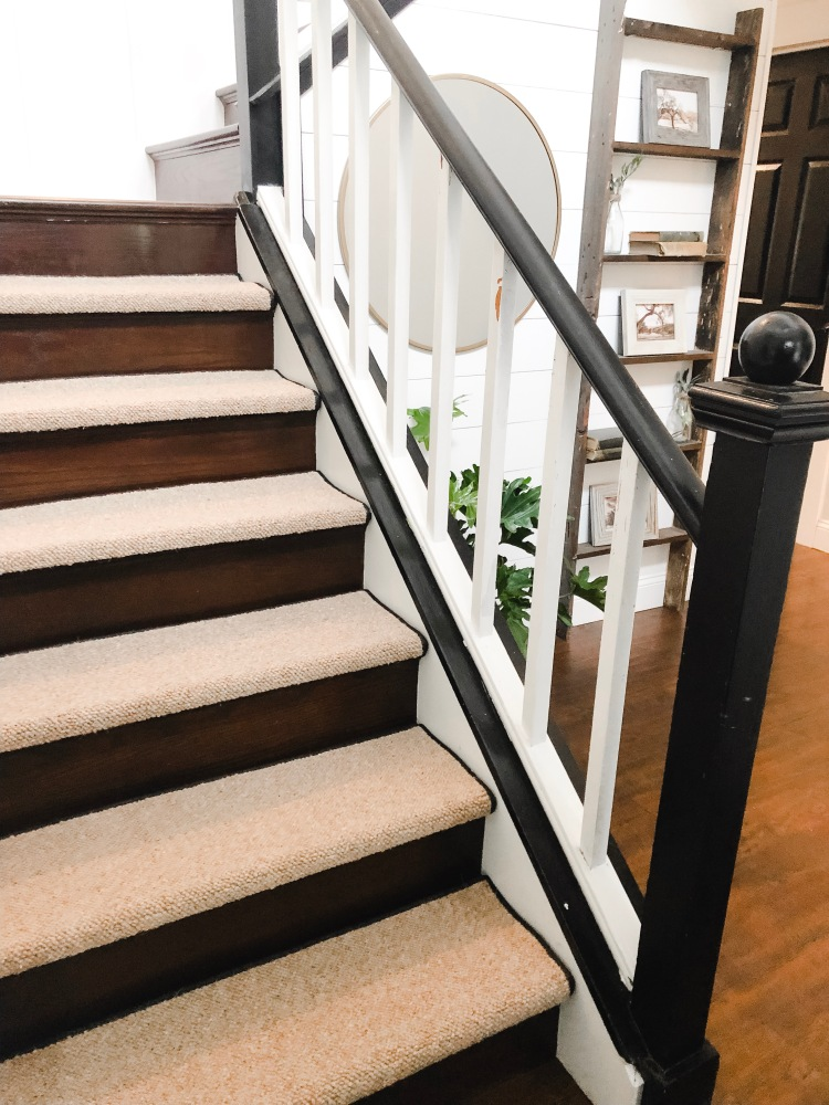 Farmhouse Style Stair Treads Home On Mount Forest